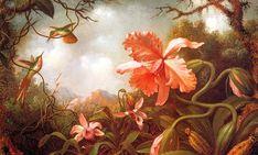 Pintura de Martin Johnson Heade  (1819-1904)