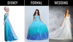 18 Disney Princesses-Inspired Gowns for Every Stage of Life These are so amazing but ridiculously expensive