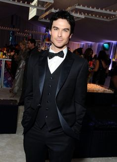 Ian Somerhalder - Elton John Oscar Party, February 26, 2012