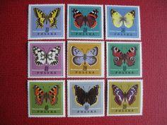 Poland 1967 - Butterflies  Mi#11797-1805 MNH (want)