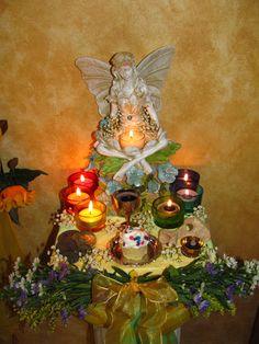 Altars:  Midsummer #Faery #Altar.