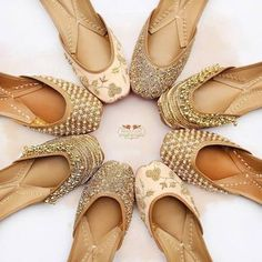 The great store with lot of variety and designs of jutti to match your outfits. This is the one of the most elegant jutti store in Brampton . Wedding Shoes Bride, Bridal Shoes, Bridal Footwear, Indian Shoes, Beautiful Sandals, Stylish Sandals, Shoes Heels Wedges, Shoe Collection, Girls Shoes
