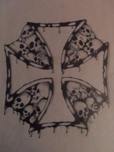 Iron Cross of Death by MKRDESIGNS on @DeviantArt