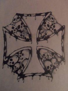 Iron Cross of Death by MKRDESIGNS on @DeviantArt