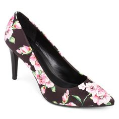 a.n.a® Farrah Floral Print Pumps  found at @JCPenney