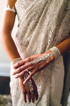 You might have seen Indians getting married and they were probably wearing Indian wedding sari. India is a large country and has different cultures and traditions when it comes to getting married. The wedding dresses . Indian Wedding Sari, Indian Wedding Jewelry, Indian Bridal, Indian Weddings, White Saree Wedding, Bridal Sari, Wedding Sarees, White Bridal, Indian Wedding Clothes