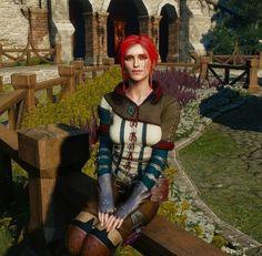 Witcher Triss, Witcher Art, Geralt Of Rivia, Ciri, The Witcher Wild Hunt, The Witcher 3, Triss Merigold, Anime Comics, Amazing Art