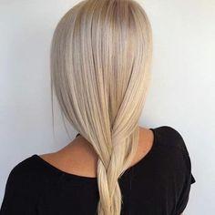 Blonde Hair Looks, Brown Blonde Hair, Beige Blonde, Braids Blonde, Creamy Blonde, Ombré Hair, Corte Y Color, Lilac Hair, Hair Color And Cut