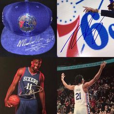 Tons of Philadelphia 76ers Autographed Memorabilia now in stock. Markelle Fultz Ben Simmons Joel Embiid and more. Check out eBay account : GardenStateGraphs . Feel free to message me to make some deals! #TrustTheProcess #JoelEmbiid #TheProcess #BenSimmons #Sixers #Philadelphia #Autographs
