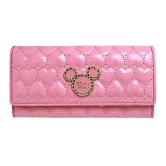 Mickey Mouse Pink Long Wallet