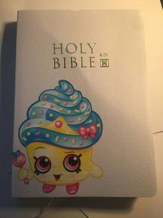 Hey, I found this really awesome Etsy listing at https://www.etsy.com/listing/271665694/custom-made-white-shopkins-bible