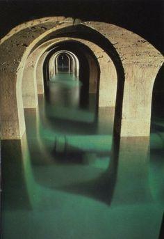 Le réservoir de Montsouris , Paris