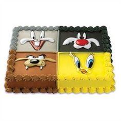 Tweety, Bugs Bunny, Sylvester & Taz Cake