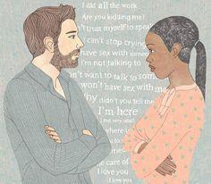 Editorial illustration for Psychologies Magazine #mentalhealth #relationships #psychologies #illustration #lauriehastings #drawing