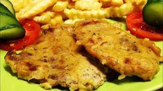 Mustáros sertésszelet tepsiben, egy kicsit másképp Hungarian Cuisine, Hungarian Recipes, Pork, Make It Yourself, Chicken, Youtube, Kale Stir Fry, Pigs, Cubs