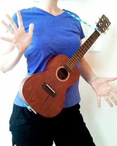 39 best uke related diy images on pinterest musical instruments diy uke strap solutioingenieria Images