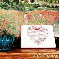 Heartstrings: Valentine's Day String Art