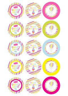 Candy land printables