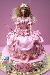 Barbie Three Musketeers cake