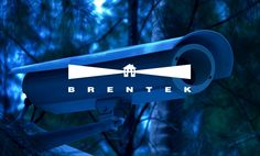 Logo Design by Ottawa Graphic Designer idApostle for Security Company Brentek
