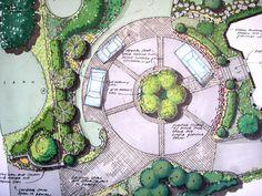 A circular driveway   Flickr - Photo Sharing!