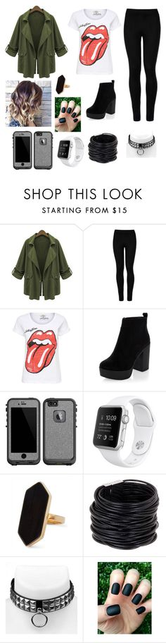 """Untitled #41"" by gissellebeltre on Polyvore featuring Chicnova Fashion, Wolford, New Look, LifeProof, Jaeger and Saachi"