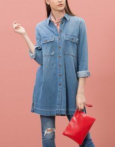 102 Best Koszule images | Koszula, Polka dot blouse, Koszula  1Ndzi