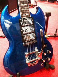 Gibson SG HHH in blue