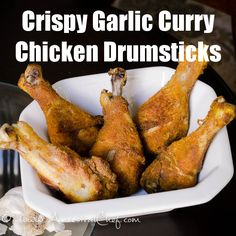 Paleo Crispy Garlic Curry Chicken Drumsticks Recipe – Ancestral Chef