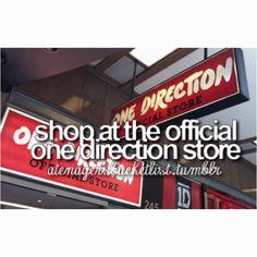 ONE DIRECTION!!!!!!!! <3 Bucket list!