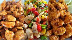 Bocconcini di pollo: 3 idee sfiziose per cucinare il pollo. Ecco le mie ricette facili: pollo all'orientale, bocconcini croccanti, bocconcini mediterranei.