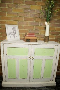 Sideboard Shabby Chic Cupboard Chalk Paint Makeover | I Restore Stuff