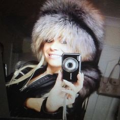 arctic-store:Beautify miss Larissa  has the most beautiful collection of our boyarin hats! This is a crystal fox hat with a long and big tail. #fur #furhat #davycrockett #crystalfox #foxhat #silverfox #fashion #fashionstyle #russianfur #russianhat #beaty #style #pels #pelshat #pelz #pelliccia #меховаяшапка #arktika #arcticstore #russianwoman #russianfurstore #omgDevilla's Fur Fetish FridaysWhere I do a few reblogs of other fur or fur related blogs out there in the land of Tumblr.