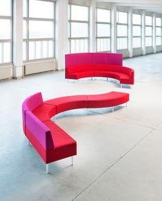 Kaari-sofa, Isku School Sofa, Learning, School, Inspiration, Biblical Inspiration, Couch, Schools, Sofas, Settee
