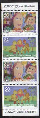 North Cyprus Stamps SG 702-03 2010 Europa childrens books - MINT