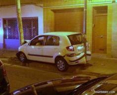 Nice Parking Job But how?