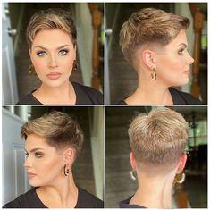 pixie hair cuts Popular Hairstyles, Latest Hairstyles, Pixie Hairstyles, Pixie Haircut, Cool Hairstyles, Haircuts, Super Short Hair, Short Hair Cuts, Short Hair Styles