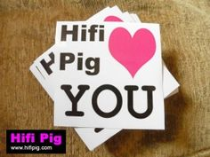 Hifipig.com <3 you, if you see us at High End Munich 2015 say hello and claim a sticker! Get all the latest news on Hifipig.com #hifi #highendmunich2015 #highendmunich