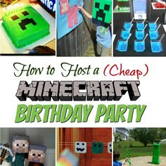 Hosting a birthday party on a (laughable) limited budget means that you may need to be a tad creative when it comes to planning the occasion. But just because its a birthday party without a big price tag, it doesn't mean you have to compromise on the fun. A Minecraft themed party is a funcontinue reading