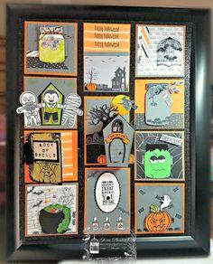 Designz By Gloria Halloween Scene Stamp Set, Jar of Love stamp set, Halloween Scene, Halloween 2019, Halloween Cards, Halloween Diy, Happy Halloween, Halloween Decorations, Spooky Treats, Halloween Scrapbook, Love Stamps