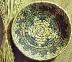 Vintage Navajo Wedding Basket by BeadstoBuckskins on Etsy, $80.00