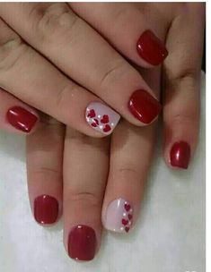 We have found 14 Super Cute Valentine's Day Nail Art Designs. If you are looking for some inspiration for Valentine's Day this year, you have come to the right place. Check out some of the best vday nail art designs below. Nail Design Spring, Valentine Nail Art, Nails For Valentines Day, Valentine Nail Designs, Valentine's Day Nail Designs, Nails Design, Super Nails, Hot Nails, Nail Decorations