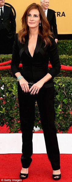 Julia Roberts at the SAG awards.