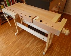 Used Woodworking Tools Woodworking Desk Plans, Used Woodworking Tools, Small Wood Projects, Woodworking Projects That Sell, Workbench Plans, Woodworking Classes, Table And Bench Set, Sell Diy, Planer
