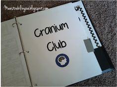 Maestra Bilingüe: Cranium club - with printables!