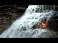 Eternal Flame Falls, Orchard Park ::for Niagra Falls Trip– Waterfall Photos, Maps, Information