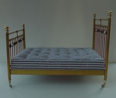 Amber's House: Brass Bed