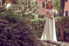 AdoraSposa 2017  Roma Collection #bridal #wedding #weddingdress #weddinggown #bridalgown #dreamgown #dreamdress #engaged #blush #romantic #inspiration #bridalinspiration #train #princess #weddinginspiration #adorasposa #weddingdresse Bridal Gowns, Wedding Gowns, Dream Dress, Wedding Inspiration, Blush, Romantic, Train, Princess, Formal Dresses