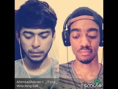 Wracking Ball ... Smule sing cover by AhimsaGhibran + _iTony_