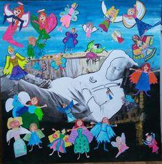 2. Sınıflar 23 Nisan çalışması First Art, Little Ones, Pastel, Activities, Education, Creative, Crafts, Painting, Ideas